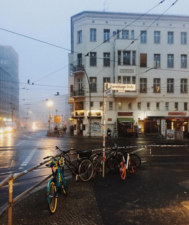 Oranienburger Str. w Berlinie