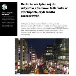 f5 - Millenialsi w berlińskich start-upach