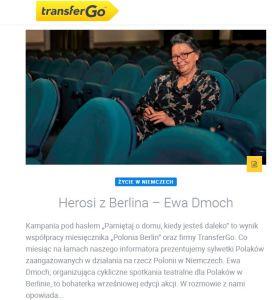 Herosi z Berlina - Ewa Dmoch