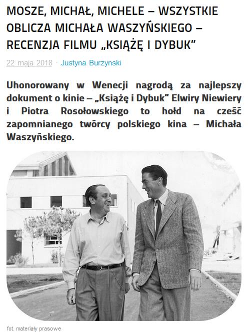Reklektor - Mosze, Michał, Michele
